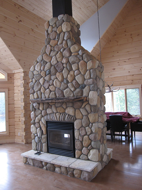 Wood Fireplace Efficient Wood Amp Gas